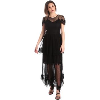 textil Mujer Vestidos largos Fracomina FR19SP364 Negro