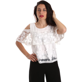 textil Mujer Tops / Blusas Fracomina FR19SP605 Blanco