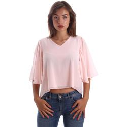 textil Mujer Tops / Blusas Fracomina FR19SP468 Rosado