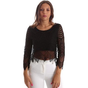 textil Mujer Tops / Blusas Fracomina FR19SP099 Negro