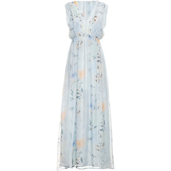 textil Mujer Vestidos largos Fracomina FR19SMCARLINDA Azul