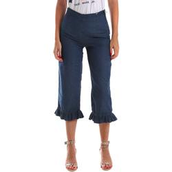 textil Mujer Vaqueros ¾ & 7/8 Fracomina FR19SM502 Azul