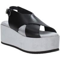 Zapatos Mujer Sandalias Pregunta IBH6653 Negro