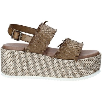 Zapatos Mujer Alpargatas Pregunta IBH6649 Marrón