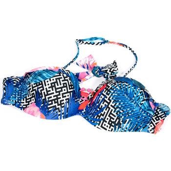 textil Mujer Bañador por piezas Ea7 Emporio Armani 912089 9P432 Azul