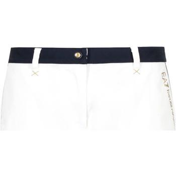 textil Mujer Shorts / Bermudas Ea7 Emporio Armani 3GTS02 TN29Z Blanco