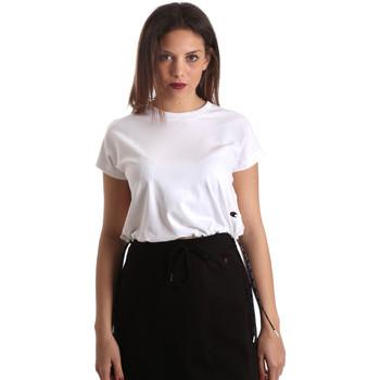 textil Mujer Camisetas manga corta Champion 111487 Blanco