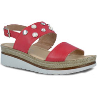 Zapatos Mujer Sandalias Pitillos 5653 Rojo
