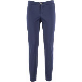 textil Mujer Pantalones chinos NeroGiardini P960510D Azul