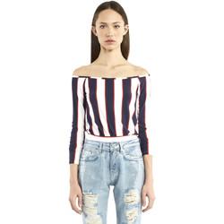 textil Mujer Camisetas manga larga Denny Rose 911DD60016 Azul