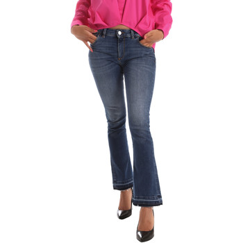 textil Mujer Vaqueros bootcut Byblos Blu 2WJ0012 TE0126 Azul