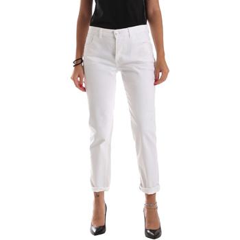 textil Mujer Vaqueros slim Byblos Blu 2WJ0011 TE0128 Blanco