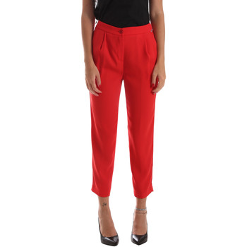 textil Mujer Pantalones chinos Byblos Blu 2WP0002 TE0012 Rojo