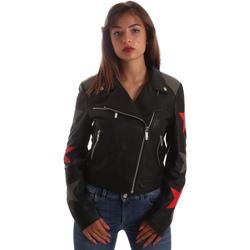 textil Mujer Chaquetas de cuero / Polipiel Byblos Blu 2WS0002 LE0007 Negro