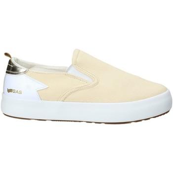 Zapatos Mujer Slip on Gas GAW910105 Beige