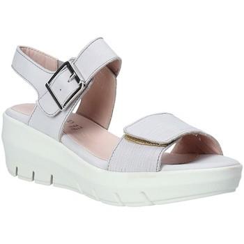 Zapatos Mujer Sandalias Grunland SA1881 Blanco