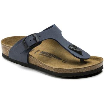 Zapatos Niños Chanclas Birkenstock 345443 Azul