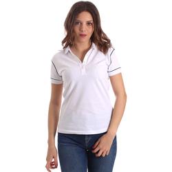 textil Mujer Polos manga corta La Martina NWP002 PK001 Blanco