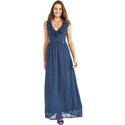 textil Mujer Vestidos largos Gaudi 911BD15007 Azul