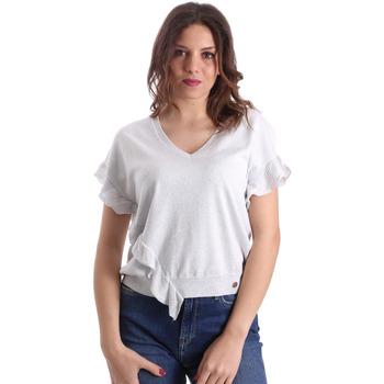 textil Mujer Tops / Blusas Gaudi 911BD53010 Gris