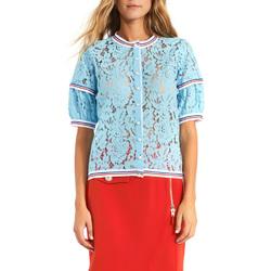textil Mujer Tops / Blusas Gaudi 911BD55001 Azul