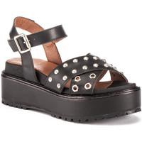 Zapatos Mujer Sandalias Lumberjack SW43706 004 Q12 Negro