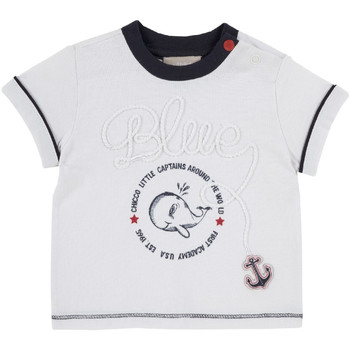 textil Niños Camisetas manga corta Chicco 09006679000000 Blanco