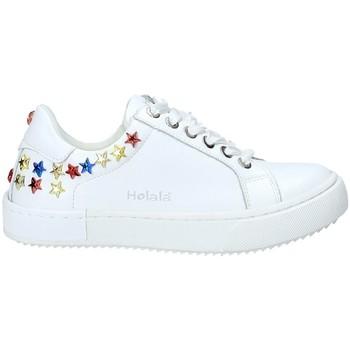 Zapatos Niños Zapatillas bajas Holalà HS0047L Blanco