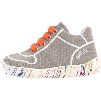 Zapatos Niños Zapatillas bajas Naturino 2013463-03-0B03 Gris