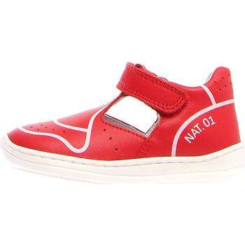 Zapatos Niños Sandalias Naturino 2013464-01-0H05 Rojo