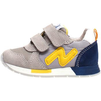 Zapatos Niños Zapatillas bajas Naturino 2013755-02-1B55 Gris