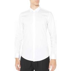 textil Hombre Camisas manga larga Antony Morato MMSL00293 FA450001 Blanco