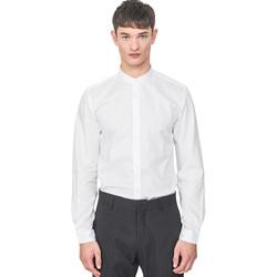 textil Hombre Camisas manga larga Antony Morato MMSL00604 FA440031 Blanco