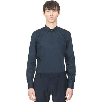 textil Hombre Camisas manga larga Antony Morato MMSL00293 FA450001 Azul