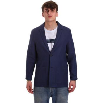 textil Hombre Chaquetas / Americana Antony Morato MMJA00432 FA950158 Azul