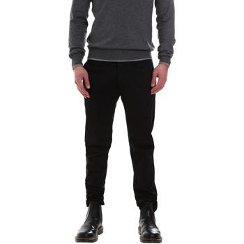 textil Hombre Pantalones chinos Gaudi 921FU24002 Negro