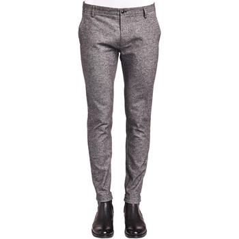 textil Hombre Pantalones chinos Gaudi 921FU25008 Gris