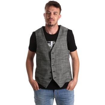 textil Hombre Chaquetas de punto Gaudi 921FU35035 Gris