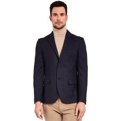 textil Hombre Chaquetas / Americana Gaudi 921FU35057 Azul