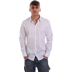 textil Hombre Camisas manga larga Gaudi 921FU45014 Blanco