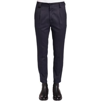 textil Hombre Pantalón de traje Gaudi 921FU25024 Azul
