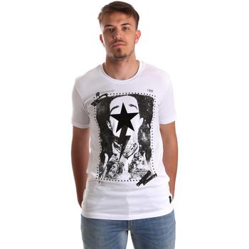 textil Hombre Camisetas manga corta Gaudi 921FU64002 Blanco