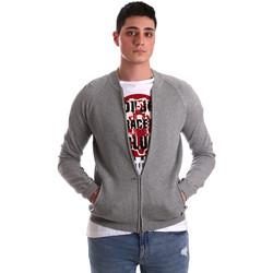 textil Hombre Chaquetas de punto Gaudi 921BU53015 Gris
