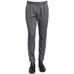 textil Hombre Pantalón de traje Gaudi 921BU25018 Negro