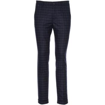 textil Hombre Pantalón de traje NeroGiardini A970573U Azul