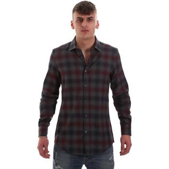 textil Hombre Camisas manga larga Antony Morato MMSL00548 FA410091 Gris