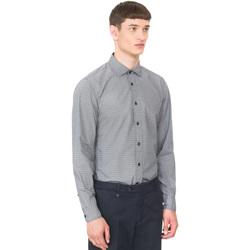 textil Hombre Camisas manga larga Antony Morato MMSL00548 FA430389 Azul