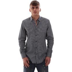 textil Hombre Camisas manga larga Antony Morato MMSL00574 FA430158 Azul