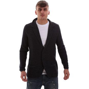 textil Hombre Chaquetas de punto Antony Morato MMSW00949 YA200061 Azul