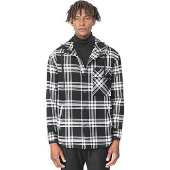 textil Hombre Camisas manga larga Antony Morato MMSL00555 FA410113 Negro